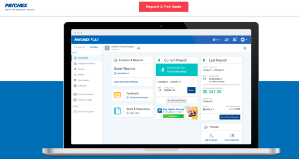 Paychex Payroll Interface