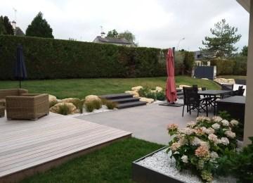 Stunning Salon De Jardin Sur Terrasse Gallery - House Design ...