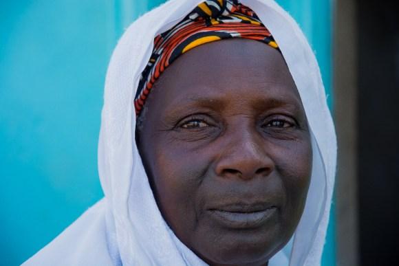 Eleveuse à Nabadji - près de Matam - Sénégal