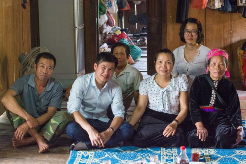 L'équipe de la visite du projet agriculture de conservation du NOMAFSI - nord Vietnam - http://paysansdavenir.com/lagriculture-de-conservation-au-secours-de-lagriculture-du-nord-du-vietnam/