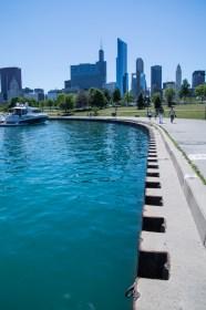 Un petit tour à Chicago : promenade au bord du lac