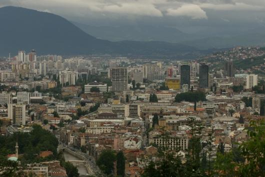 Visages de Sarajevo d'après guerre : hymne à une capitale courage 1