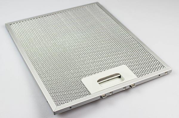 filtre metallique silverline hotte 7 mm x 260 mm x 211 mm
