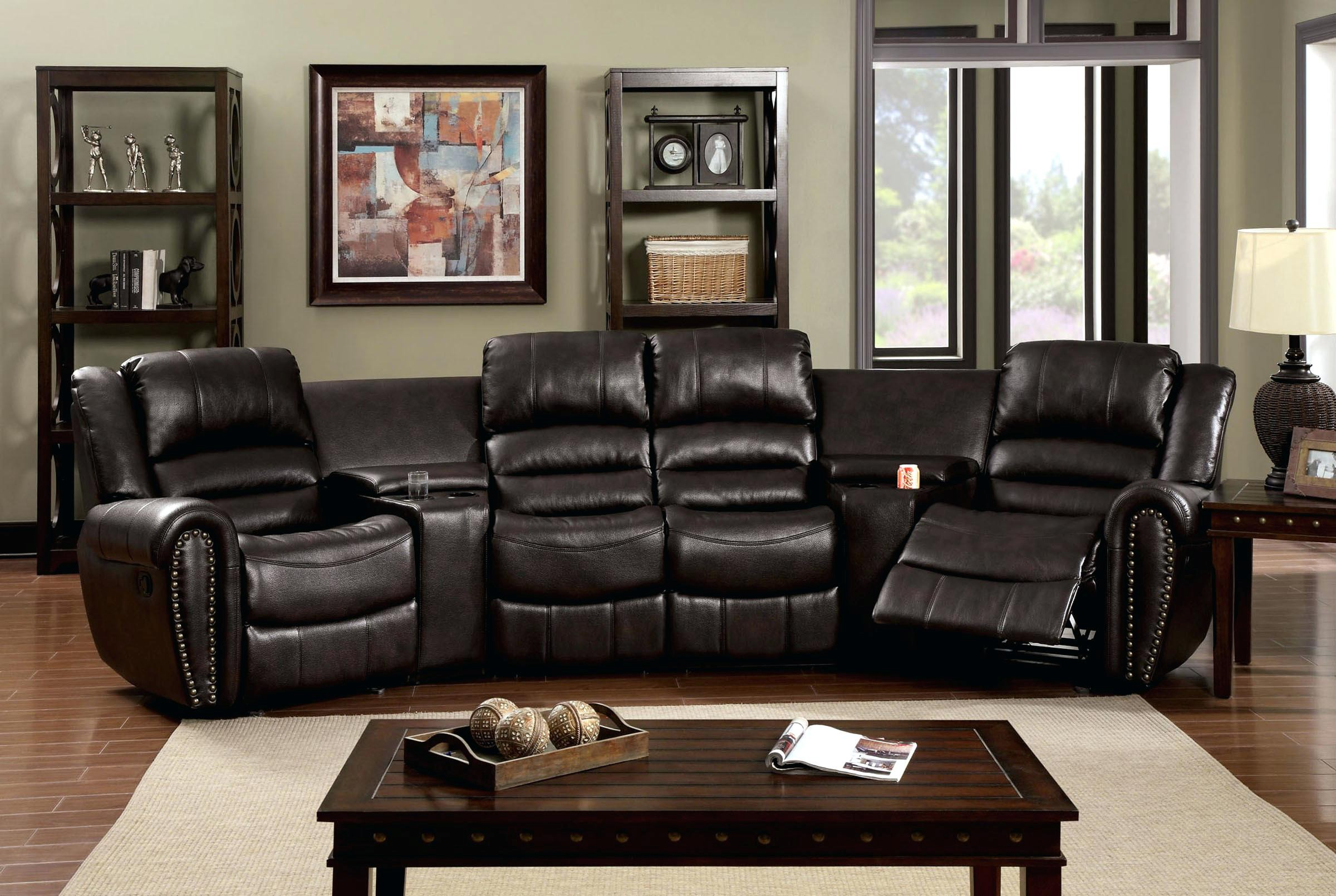 home theatre sectional sofas best thing to clean cream leather sofa style with pull out bed