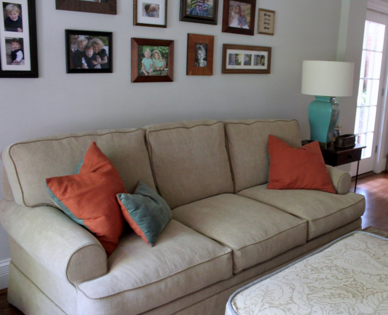 buchanan sofa with chaise modern sectional india pottery barn slipcover review home co