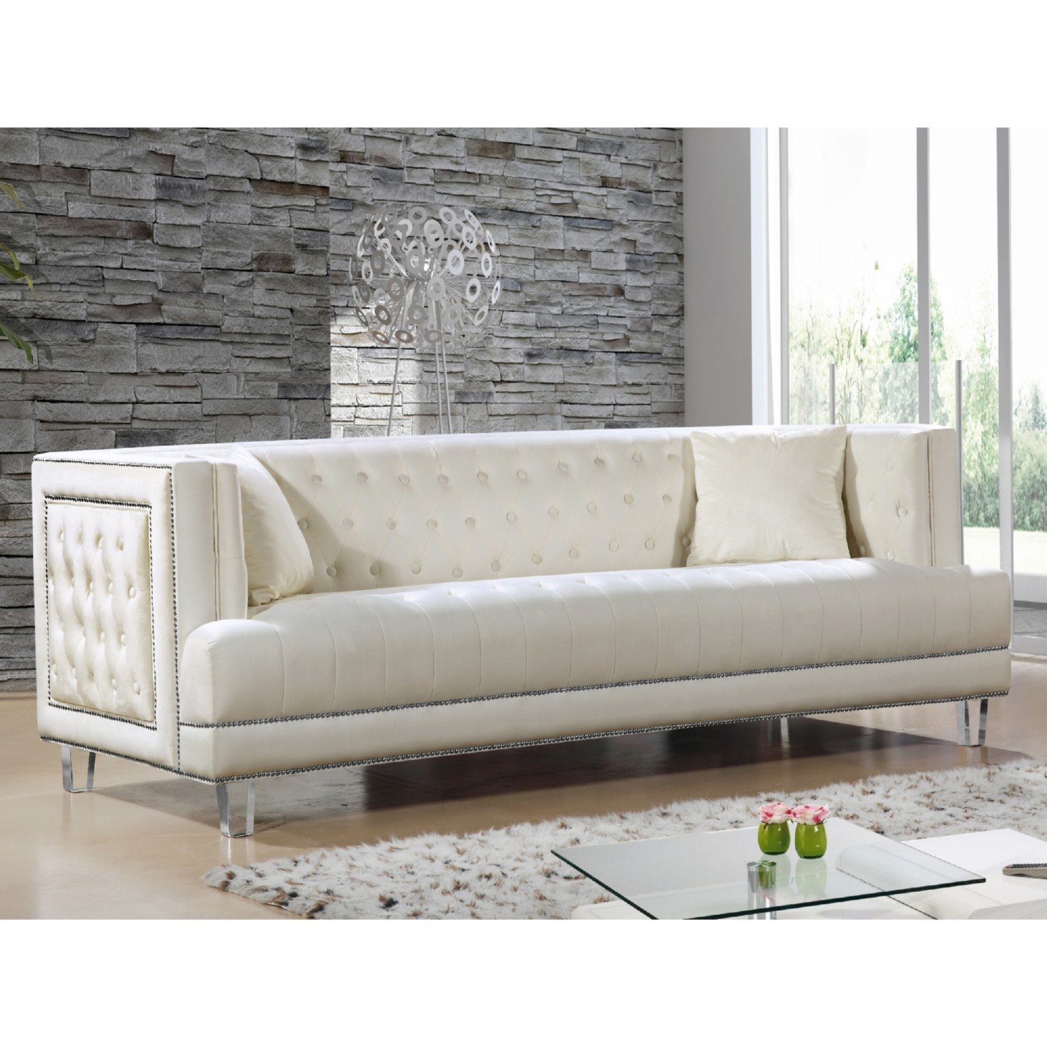velvet grey tufted sofa set covers in uganda gray  review home decor