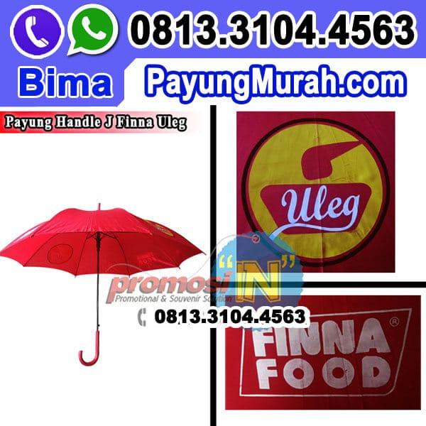 Payung Handle J Souvenir Finna Food