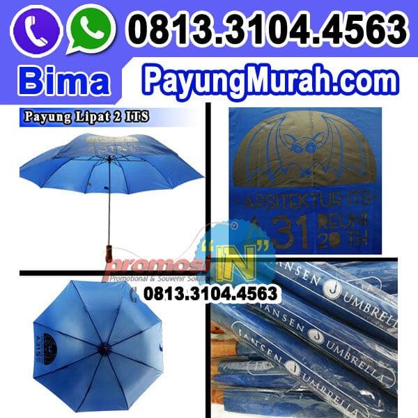 Payung Lipat 2 Souvenir Reuni ITS
