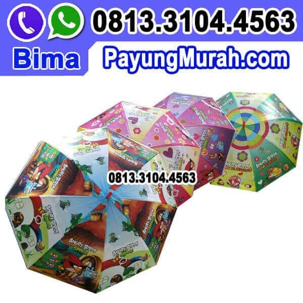 Agen Souvenir Payung Karakter untuk Ulang Tahun Anak