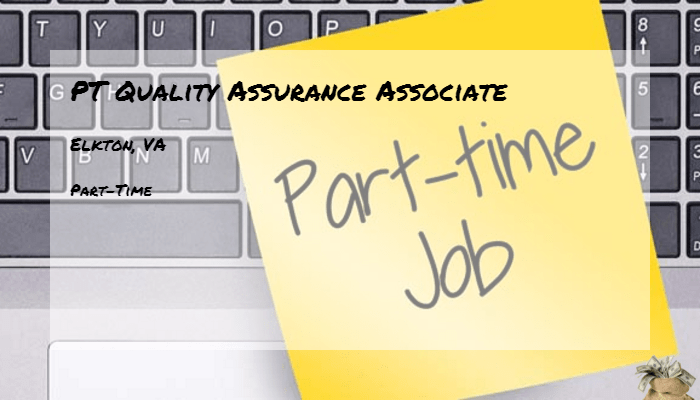 PT Quality Assurance Associate Food Lion Elkton VA  Part