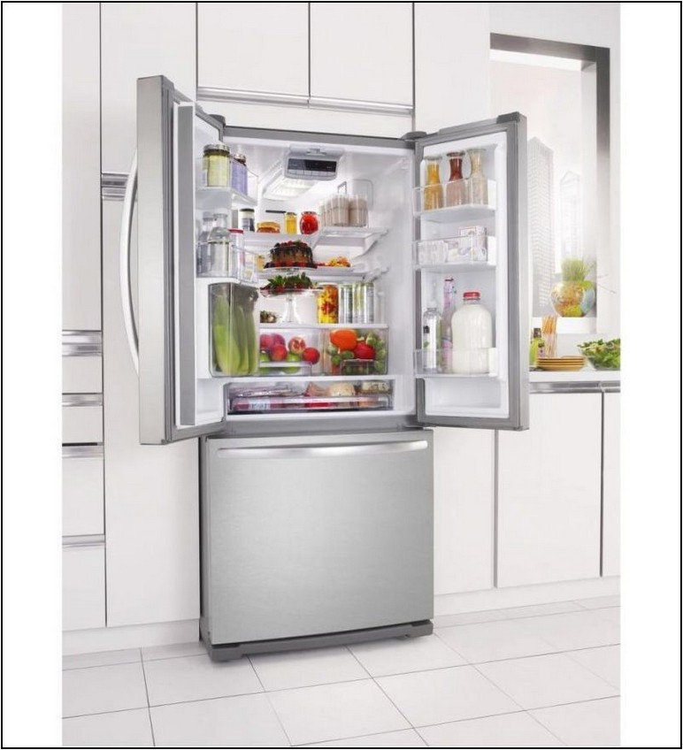 34 Inch Wide French Door Refrigerator