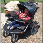 Baby Trend Navigator Double Jogging Stroller Car Seat