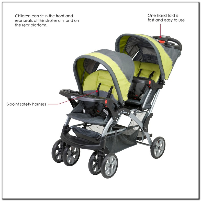 Baby Trend Sit And Stand Double Stroller Parts