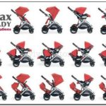 Britax B Ready Double Stroller Configurations