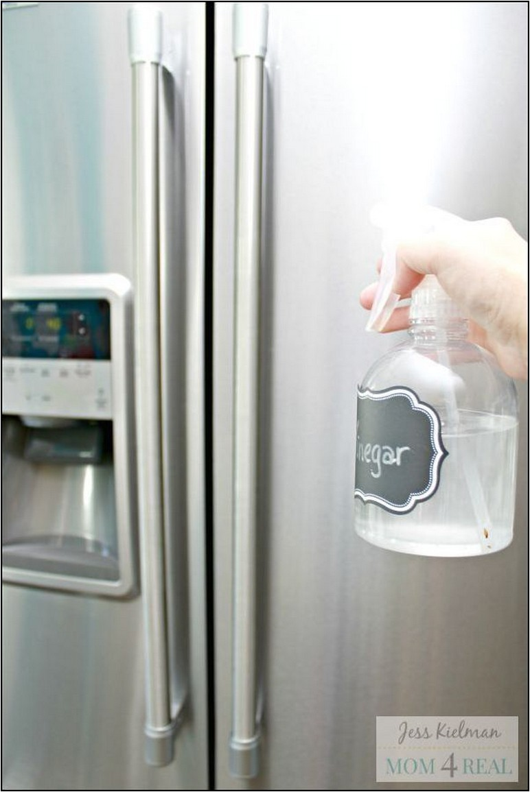 Cleaning Stainless Steel Refrigerator Naturally
