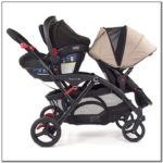 Double Stroller And Carseat Combo