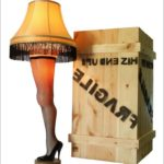 Full Size Leg Lamp With Crate