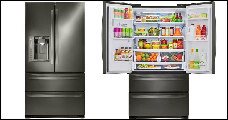 Home Depot Lg Counter Depth French Door Refrigerator