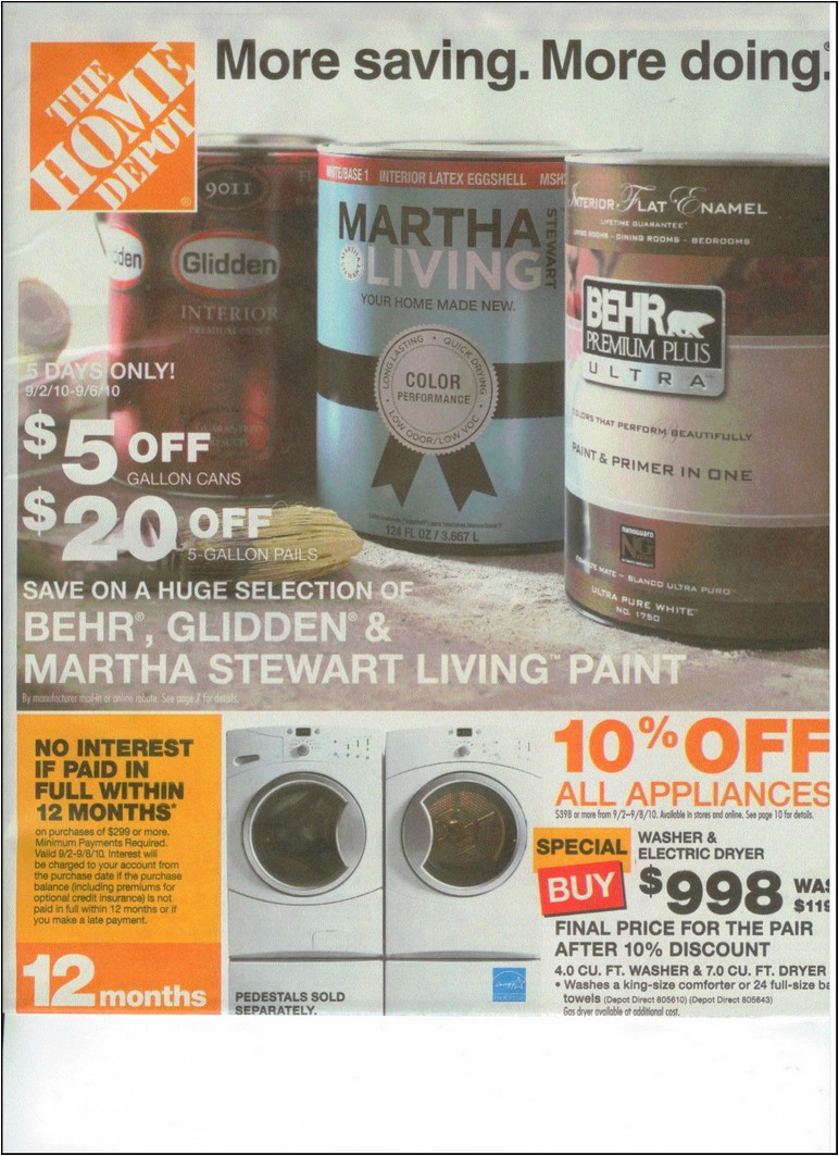 Home Depot Refrigerator Labor Day Sale