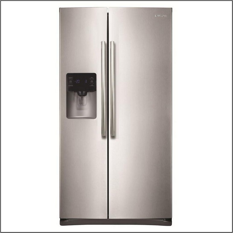 Home Depot Side By Side Stainless Steel Refrigerator