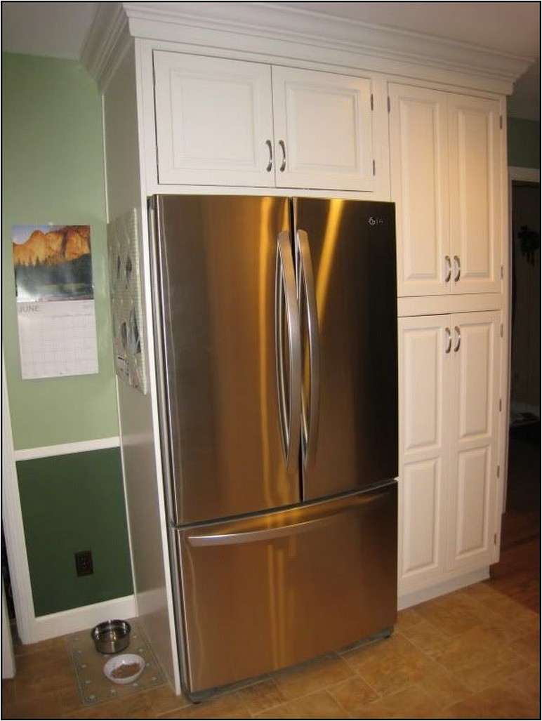 How Tall Is A Refrigerator Cabinet