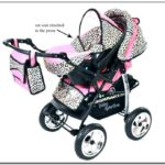 Infant Car Seat Stroller Combo Girl