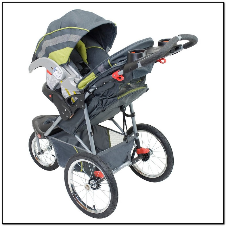 Infant Jogging Stroller With Car Seat