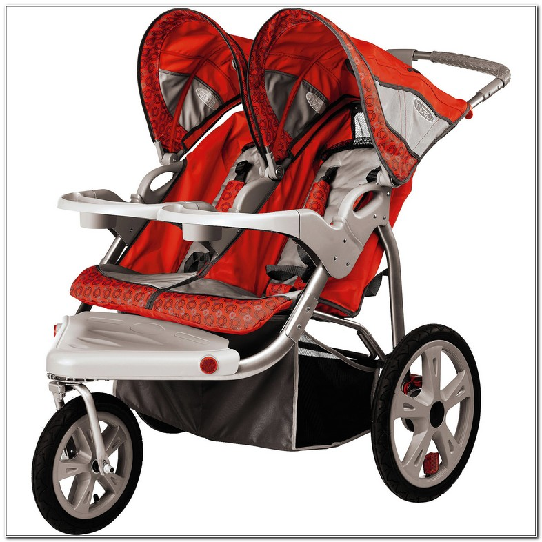 Instep Safari Double Jogging Stroller How To Fold