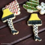 Leg Lamp Sugar Cookies
