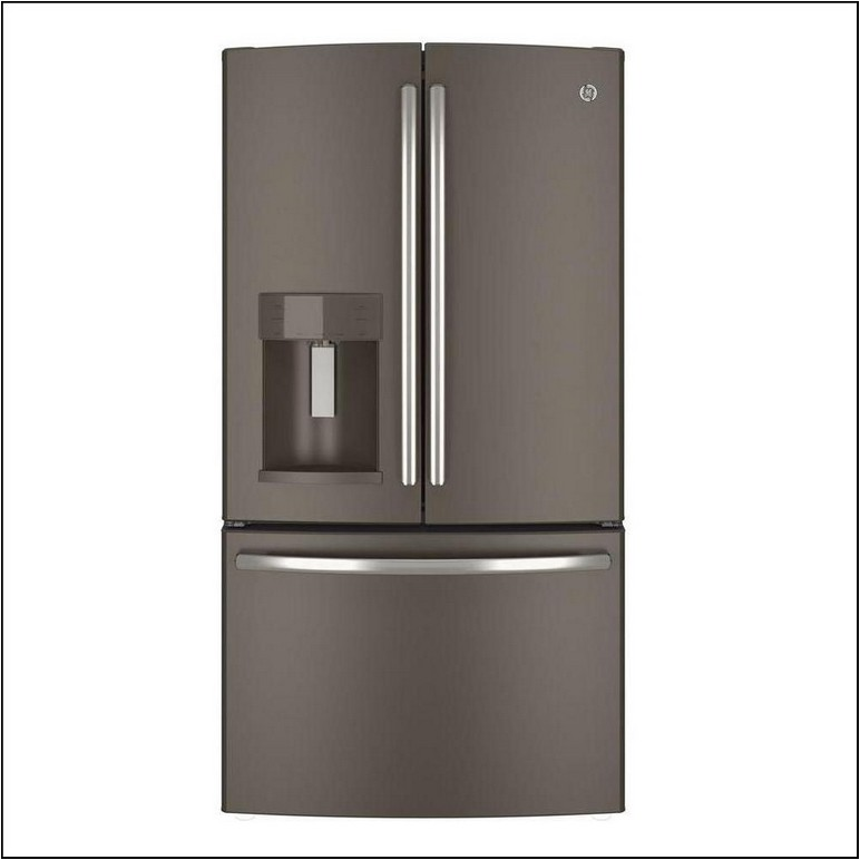 Lg Counter Depth French Door Refrigerator Lowes