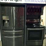 Lowes Black Stainless Refrigerator