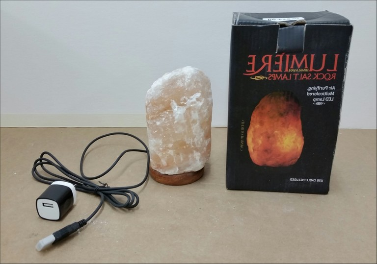 Lumiere Himalayan Rock Salt Lamp Recall