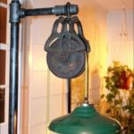 Pulley Lamp Restoration Hardware