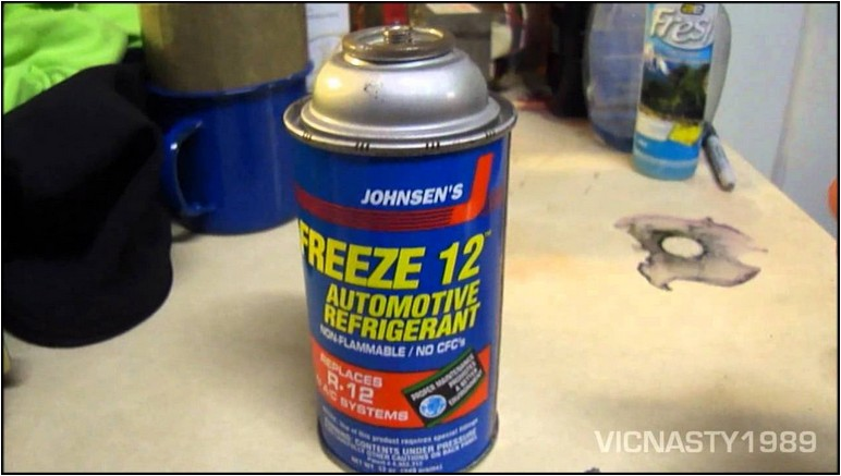 R12 Refrigerant Replacement Kit