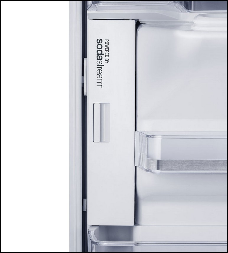 Refrigerator With Sodastream