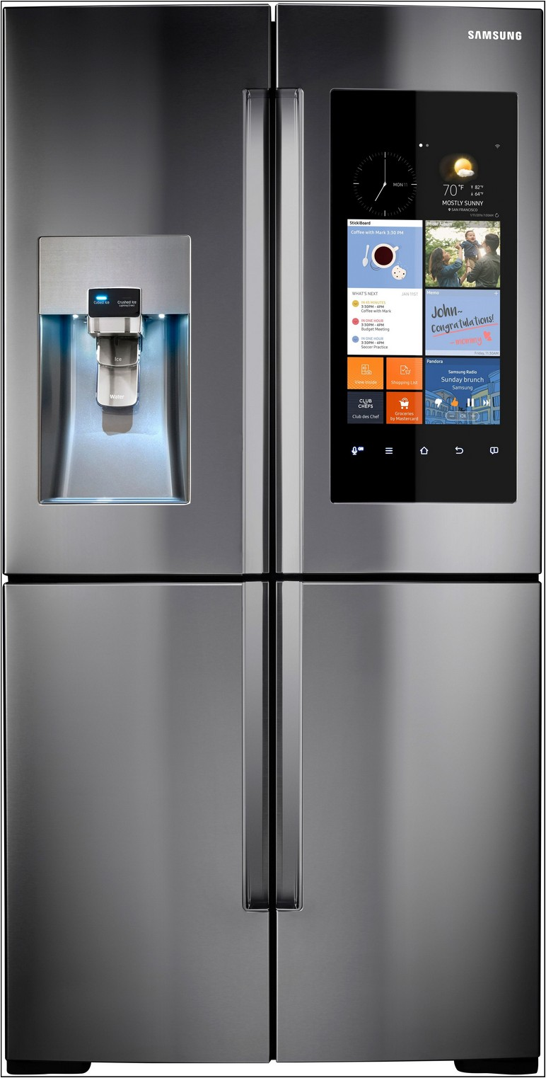 Samsung 4 Door Refrigerator With Touch Screen