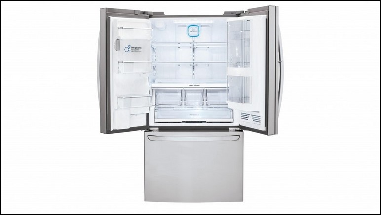 Samsung French Door Refrigerator With 2 Ice Makers