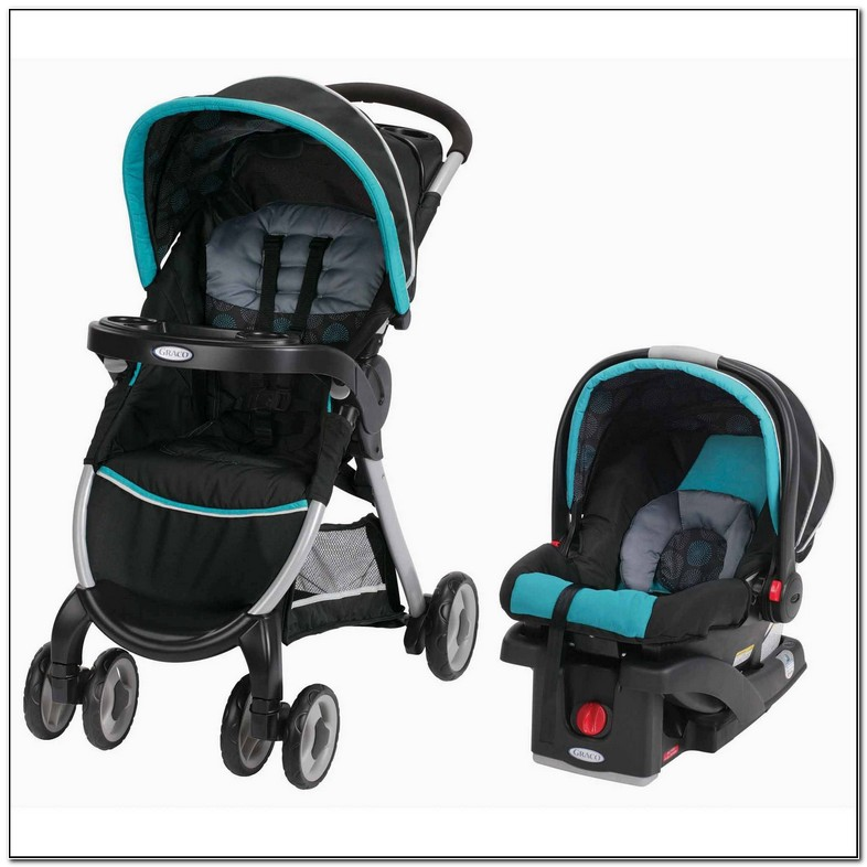 Single Graco Car Seat Stroller Combo