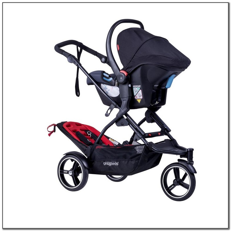 Small Double Stroller With Car Seat