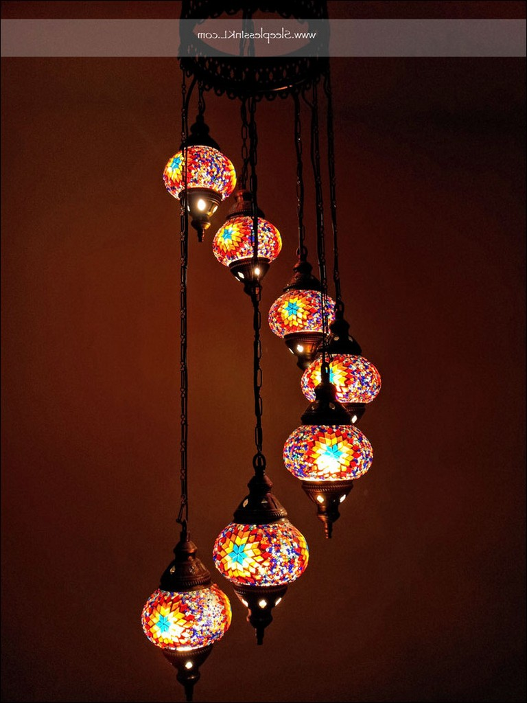 Turkish Mosaic Lamps Sale