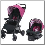 Used Baby Stroller And Carseat Combo