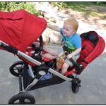Used City Select Double Stroller Canada