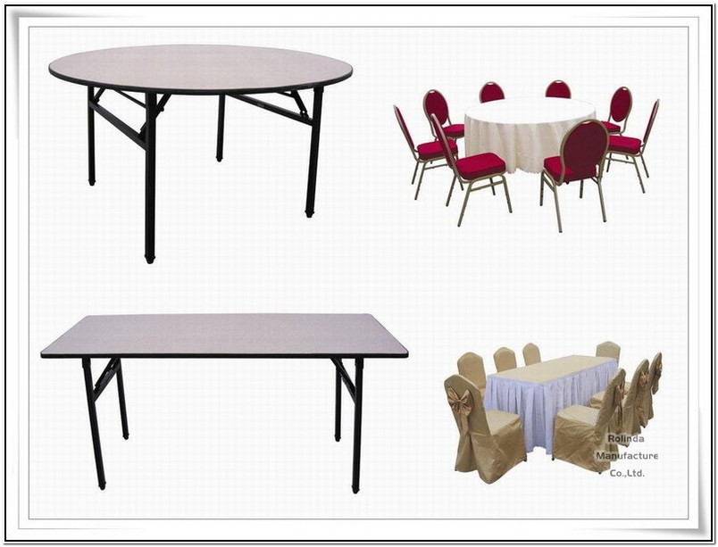 Banquet Table Sizes Round