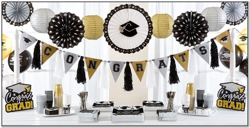 Party City Graduation Table Covers