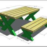 Picnic Table Dimensions Standard