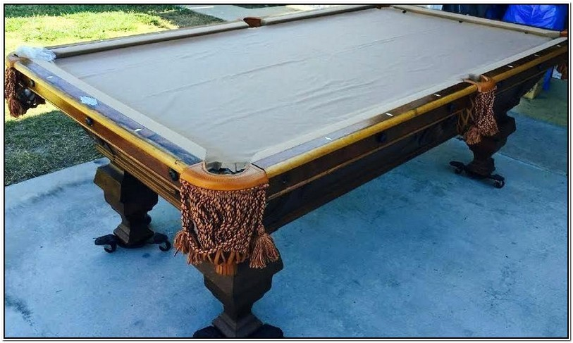 Pool Table Felt Replacement Cost