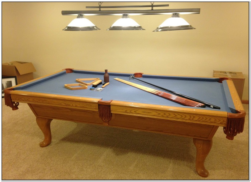 Sportcraft Pool Table Weight