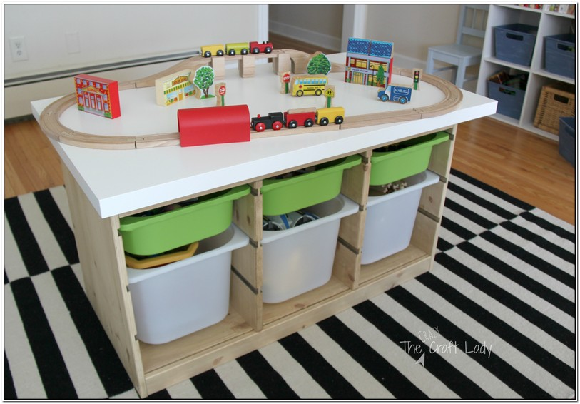 Train Table With Storage
