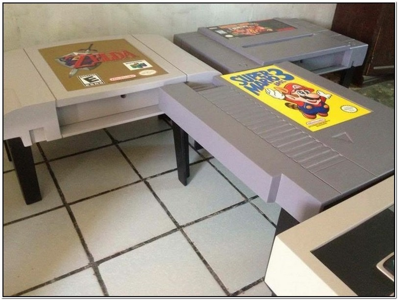 Video Gamer Coffee Table