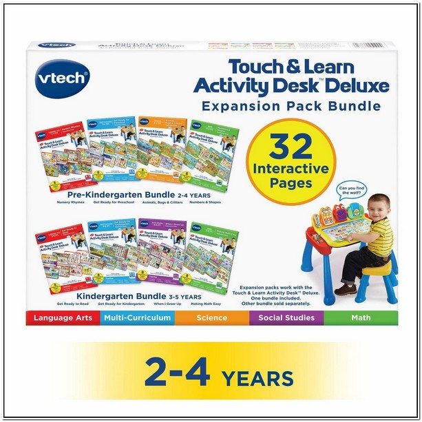 Vtech Learning Table Expansion Packs